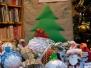 18 grudnia 2019 r. Rozstrzygnięci konkursu na ozdobę choinkową i strojenie drzewka bibliotecznego.