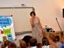 9 czerwca 2017 r. spotkanie z Katarzyną Wasilkowską w ramach dolnośląskich spotkań pisarzy z dziećmi i młodzieżą pn. Z książką na walizkach.